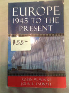 Europe 1945 To The Present Red Deer College Textbook