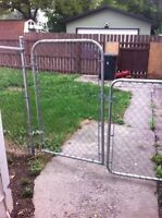 Dog Run / Chain Link Fence