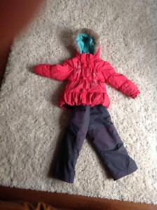 Habit de neige - fille - peluche et tartine - 4 ans