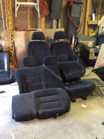 2002 Jetta Wagon Seats