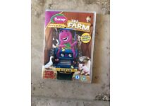 Barney lets go to The Farm DVD, only £2!!