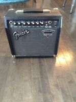 SQUIER GUITAR AND FENDER AMPLIFIER** 200$