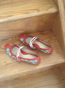AUTHENTIC COACH SHOES, NEW CONDITION