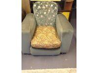 Genuine 1930s Art Deco club chair