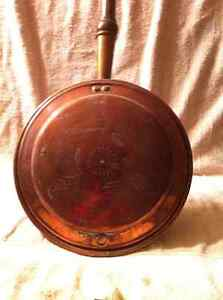 Antique Copper Bed Warmer. Sarnia Sarnia Area image 2