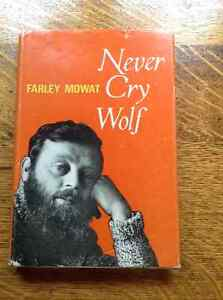 Never Cry Wolf by Farley Mowat Belleville Belleville Area image 1