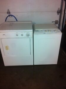 KENMORE PORTABLE WASHER with Regular Dryer.