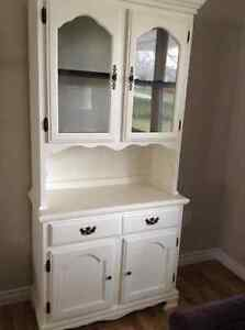 Newly refinished buffet and hutch