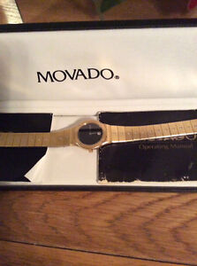 Movado woman's watch- price significantly reduced