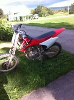 2004 crf150f. Works awesome!