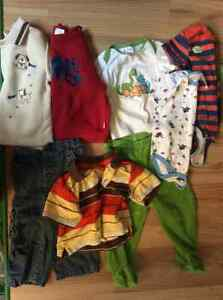 12 month baby boy clothes (8 items)
