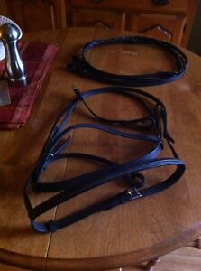 English Bridle and reins.   Never used  Peterborough Peterborough Area image 2