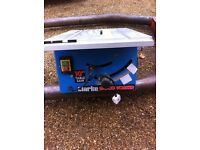 Clarke 10in table saw