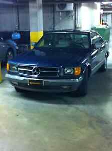 Benz 500 sec coupe 1985, 2nd owner West Island Greater Montréal image 2