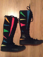 CONVERSE Shoes: Awesome Multi-Coloured Hi-Tops - Size 7