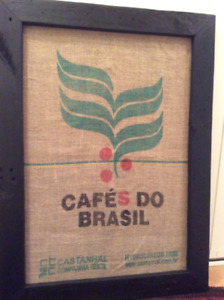 Authentic framed coffee logos