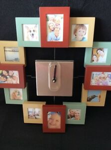 NEW Avon Picture Frame Wall Clock