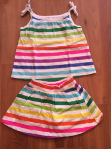 12-18 month rainbow outfit