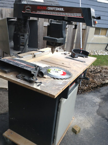 "10"" Cabinet Maker Radial Arm Saw"