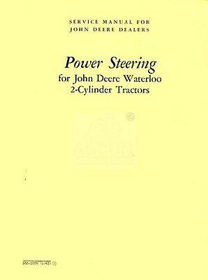 John Deere 50 60 70 520 530 620 60 720 730 Tractor Power Steering Service Manual