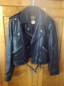 LADIES AND MENS LEATHER COATS
