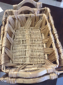 "NEW SET OF LARGE BASKETS 21"" x 15"" x 6"""