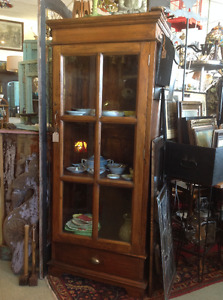 Furniture,carpets,registers,knobs,much cast iron........