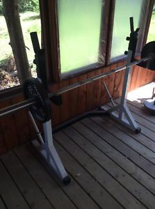 Squat rack / chest