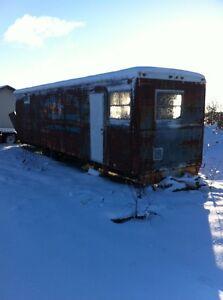 Construction trailer
