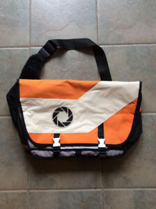Authentic PORTAL Messenger and Laptop Bag, Like New