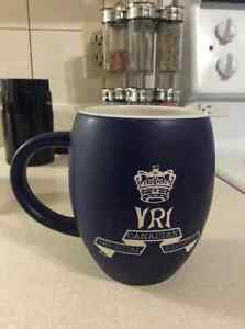 Royal Canadian Regiment embossed mug