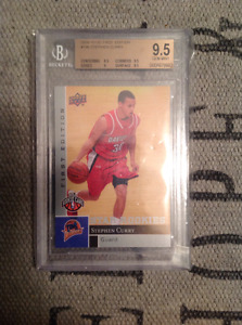 Stephen Curry BGS 9.5 Upper Deck First Edition Rookie