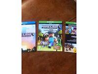 Minecraft xbox one plus more
