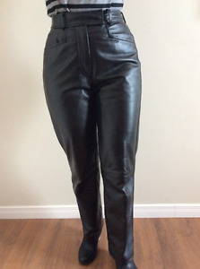 Pantalons cuir