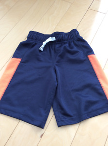Carters size 4 gym shorts