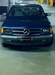 Benz 500 sec coupe 1985, 2nd owner