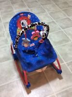 Infant to toddler chairs