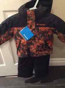 New with tags Boys Columbia 2 piece Snowsuit Jacket & Snowpants Stratford Kitchener Area image 1