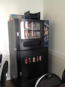 Pop/snack vending machine