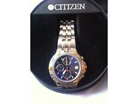Citizen watch wr 100 chrongraph (sale or swap)