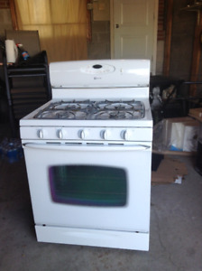 Maytag Gas Stove  -  Kenmore dishwasher