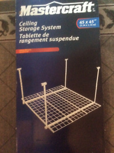 Tablette de rangement à suspendre au plafond / Celling storage s