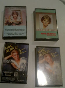 Anne Murray and Rita McNeil Music Cassettes