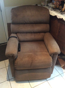 La-z-boy recliner lift chair - great for assisting seniors!
