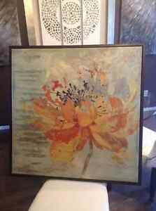 Original Giclee on Canvas Art Framed Picture