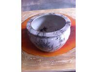Ceramic Plant Pots x 3