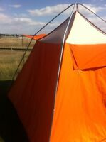 Immaculate CANVAS TENT