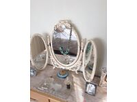 Vintage free standing dressing mirror