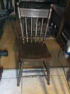 Antique press back dining chairs - several to choose from! Kitchener / Waterloo Kitchener Area image 7