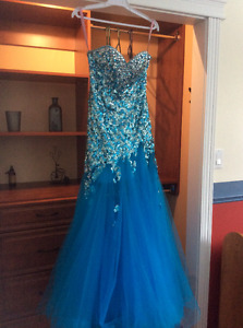 Blush Prom gown size 2